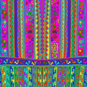 Inca Folk Art Design