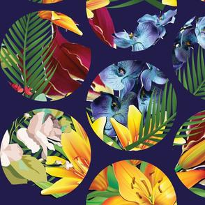 Floral Polka Dor-06