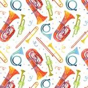 Brassbandwatercolorfabric-simplebrassband-5x5_shop_thumb