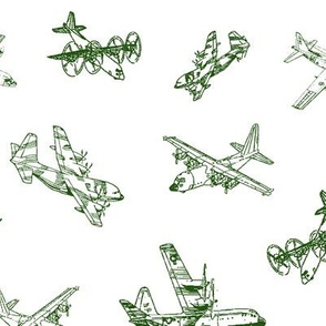 Green C130s // Large