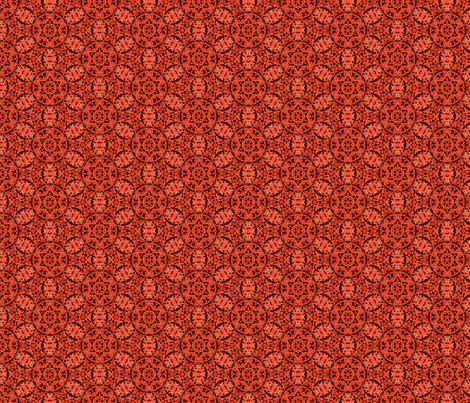 Cirque.Red.rpt fabric by fabricadabra_creations on Spoonflower - custom fabric
