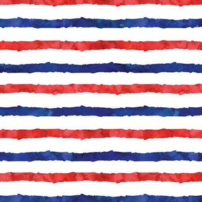 red white and blue icecream stripes