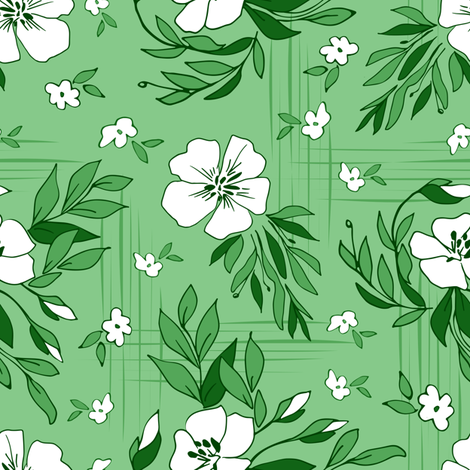 White Dance fabric by mariamsol on Spoonflower - custom fabric