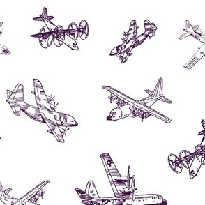 Purple C130s // Large