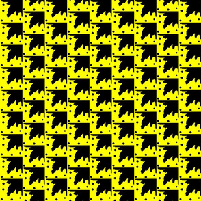 Maridadi  16  in Yellow & Black