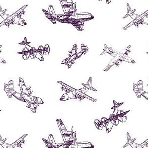 Purple C130s // Small