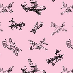 C130s on Pink // Small