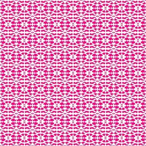 Maridadi  8 in Pink & White