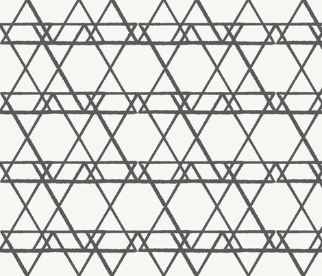 lines crayon fabric by anneke_doorenbosch on Spoonflower - custom fabric