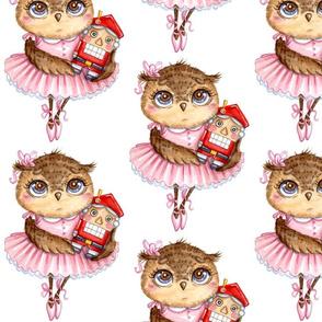 Owl Ballerina  Nutckracker
