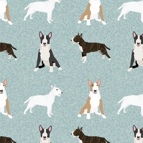 bull terrier pet quilt b dog breed fabric quilt coordinate
