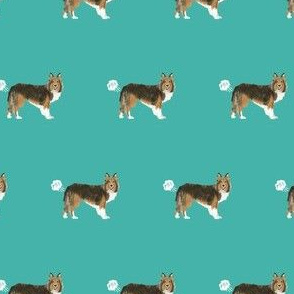 sheltie funny dog fart fabric pets pure breed dogs teal