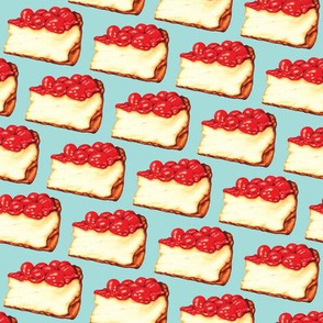 Cherry Cheesecake - Blue