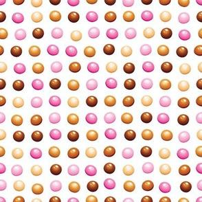 Chocolate dots SMALL