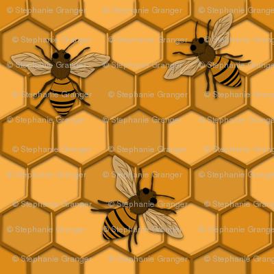 Monochrome bee alternate