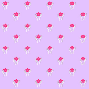Holy orchid pattern (Shiva)