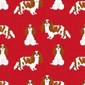cavalier king charles spaniel blenheim pet quilt a collection coordinate
