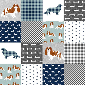 cavalier king charles spaniel blenheim pet quilt b cheater quilt collection