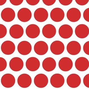 polka dot lg-red