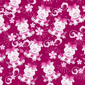 Piggie's in Pink