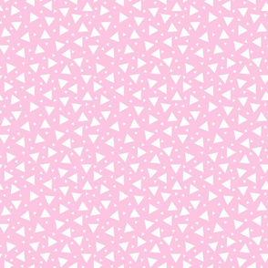 Tiny Triangles Pink