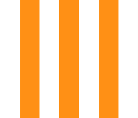 wide stripe-tangerine fabric by kae50 on Spoonflower - custom fabric