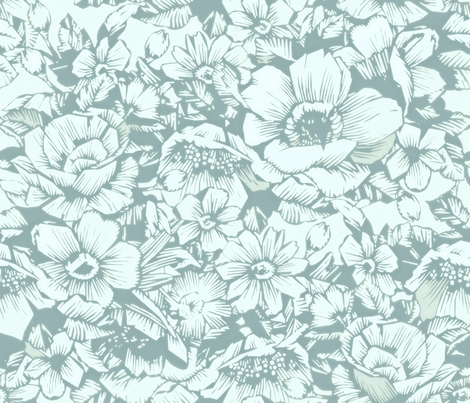 Spring Air fabric by chicca_besso on Spoonflower - custom fabric