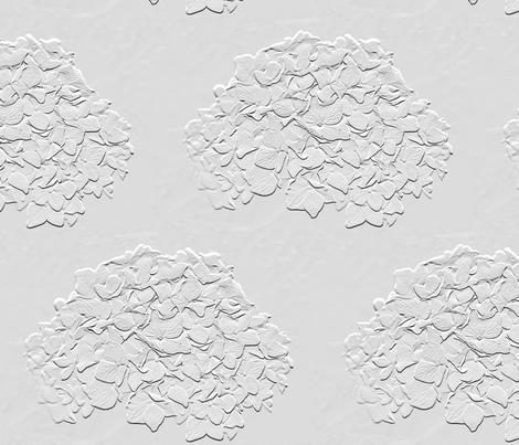 Hydrangea fabric by lgsmith on Spoonflower - custom fabric
