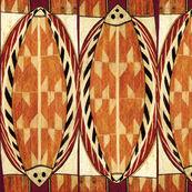 Maori Tropical Folk Art Pescados