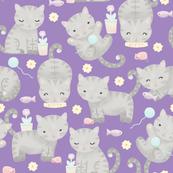 Kitten Cuties (Purple)