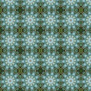 Green Succulent Pinwheel 1430BL