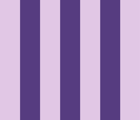 wide stripe-lavender/ultra violet fabric by kae50 on Spoonflower - custom fabric