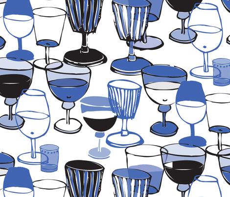 glasses fabric by lisahilda on Spoonflower - custom fabric