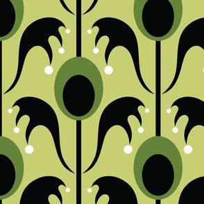 big battyflora chartreuse