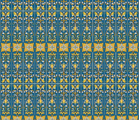 renaissance 63 fabric by hypersphere on Spoonflower - custom fabric