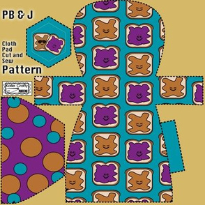 PB&J Cloth Pad