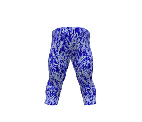 Blue and White Swirly Wave Vertical Stripe 02_9x12-150dpi