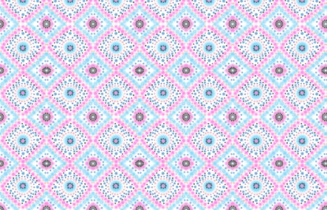 Blue fields for Ostrich Ballet (white) fabric by helenpdesigns on Spoonflower - custom fabric