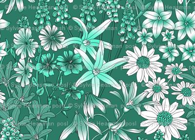 A FIELD OF WILD FLOWERS - challenge design.
