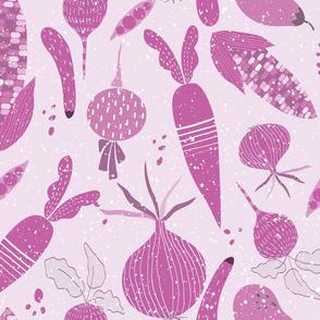 Purple vegees