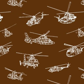 Choppers on Mocha // Small