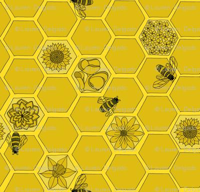 Wildflower Honey in Monochrome Yellow