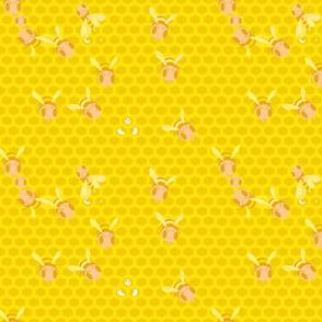 Bees in Honey