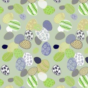 green easter eggs 1