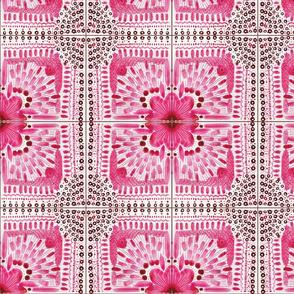 Monochrome Pink tiles