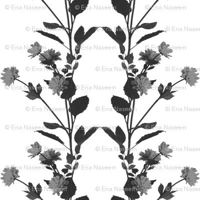 Mochome Florals