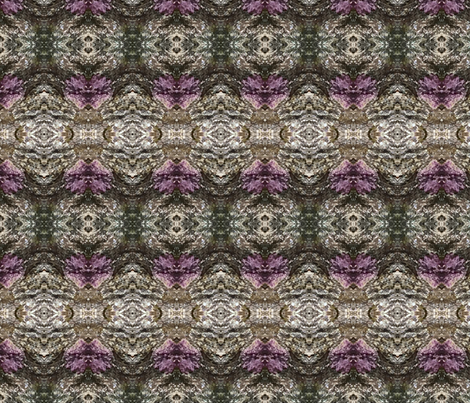 Purple snow fabric by fridatale on Spoonflower - custom fabric