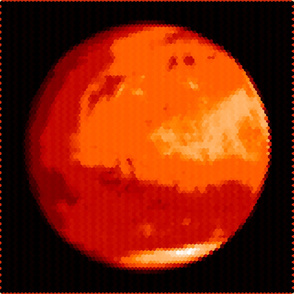Mars in Red; Hex