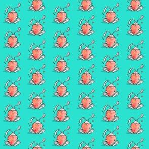 Love bunny - teeny tiny pink