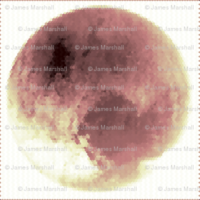 Pluto in Pink; Hex